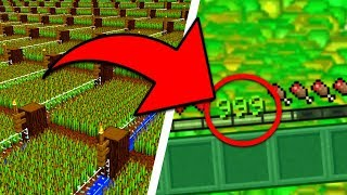 16 USEFUL FARMS in Minecraft Pocket Edition