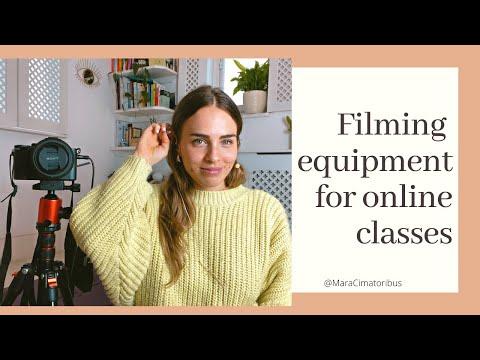 Filming Equipment - What To Use To Film Videos | MARA CIMATORIBUS