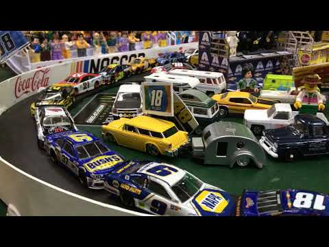Video: 10-year-old uses stop-motion to create his own NASCAR Gander Outdoors 400 from Pocono