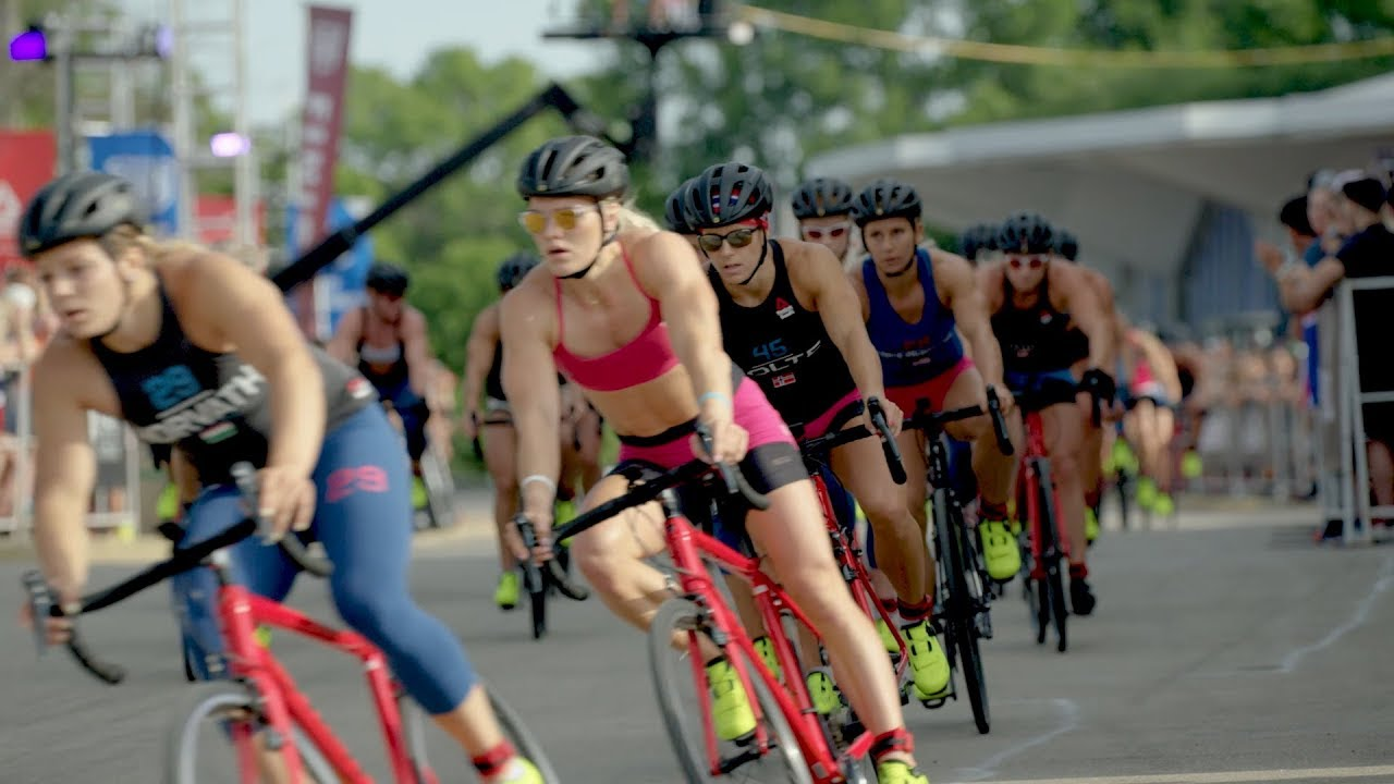 The CrossFit Games Crit Promoted Men's and Women's Cycling Equally