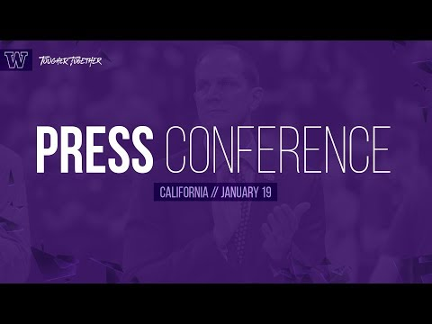Mens Basketball: Mike Hopkins Postgame Press Conference (California)