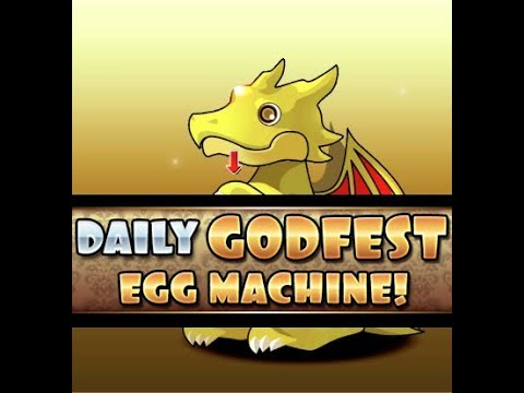 [Puzzle and Dragons] Daily Godfest Egg Machine! (Day 12) thumbnail