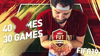 FIFA 19 FUT CHAMPIONS NOW ONLY 30 GAMES!!!! NEW WEEKLY RED INFORM REWARDS! - ULTIMATE TEAM NEWS
