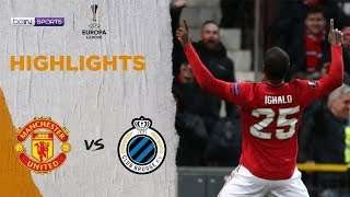 Manchester United 5-0 Club Brugge | Europa League 19/20 Match Highlights