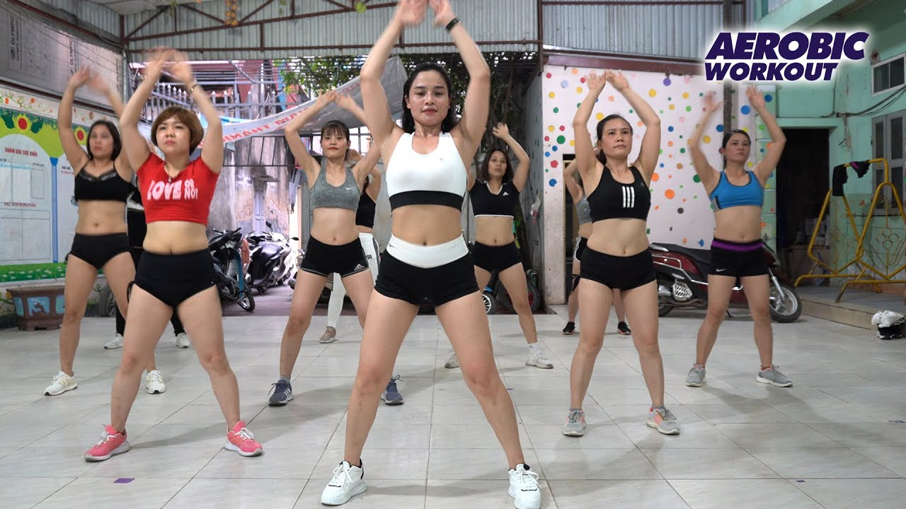 Aerobic Exercise Burns 550 Calories l Full Body Weight Loss And Toning l Aerobic Workout
