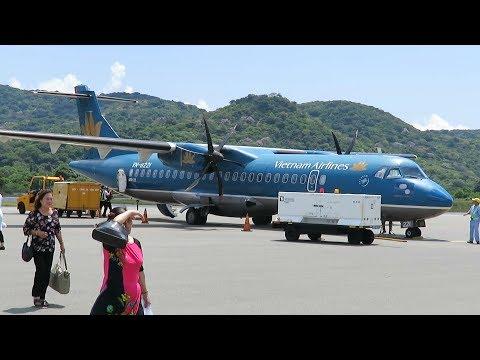 Vietnam Airlines ATR 72 from Ho Chi Minh City (Saigon) to Con Dao