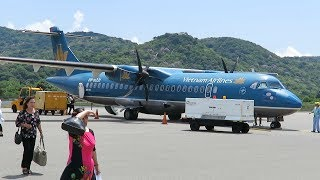 Vietnam Airlines ATR 72 from Ho Chi Minh City (Saigon) to Con Dao