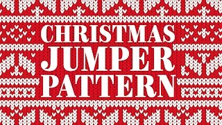Christmas Jumper Pattern Adobe Illustrator Tutorial
