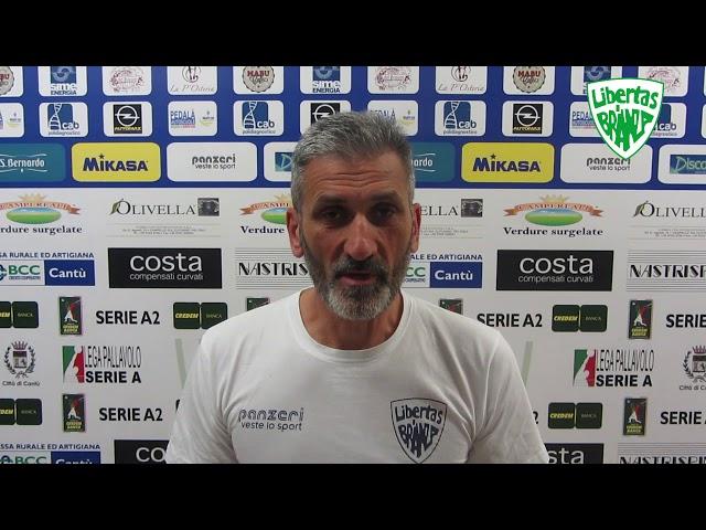 Coach Cominetti presenta la sfida contro Grottazzolina