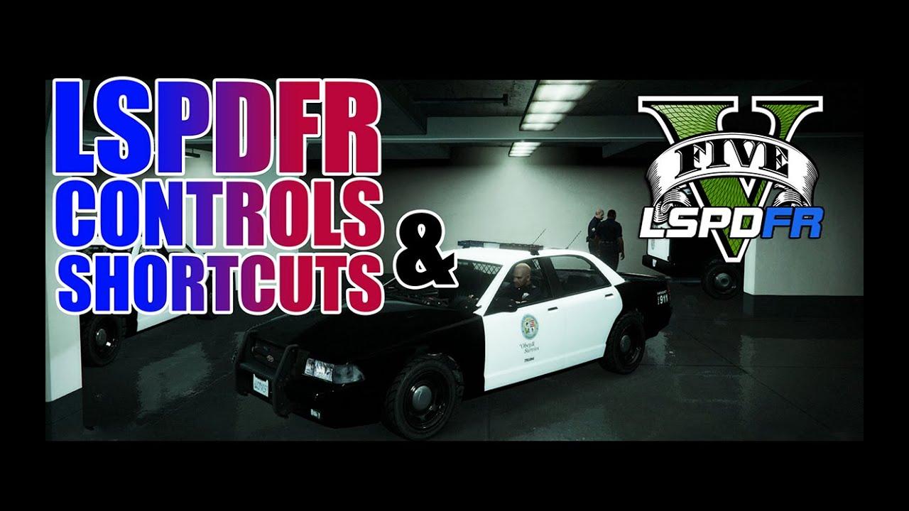 Lspdfr Gta  Basic Controls And Shortcuts Tutorial