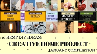 10 BEST DIY IDEAS FOR CREATIVE HOME PROJECT-BEST NIFTY DIY JANUARY 2017-FACEBOOK NIFTY