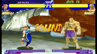 Street Fighter Alpha:Warriors' Dreams Expert Difficulty Chun Li no lose Playthrough