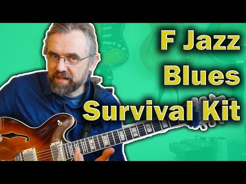 F Blues Guitar Survival Kit - What You Need to know