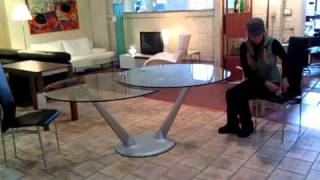 Hula Opp  Expandable   Dining  Table