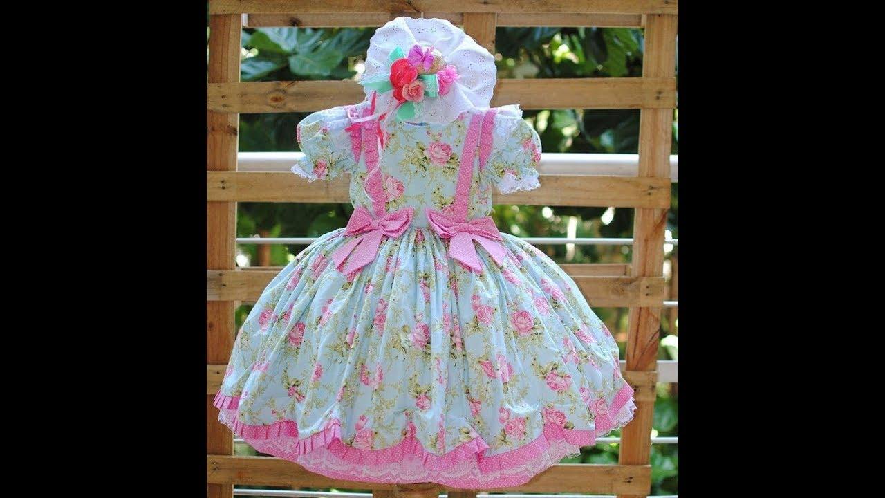 978f95e2b أجمل فساتين أطفال لبنات صغيرات اخر شياكة - ملابس اطفال - YouTube