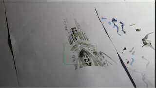 ONLINE 1 - DRAWING - LA SAGRADA FAMILIA / THE HOLY FAMILY