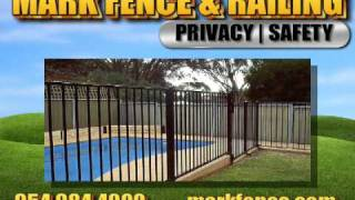 Mark Fence And Railing, Pompano Beach, Fl, Custom Design Fen