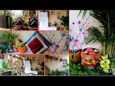 Balcony tour/Balcony organization ideas/Small covered area decoration ideas/garden ideas