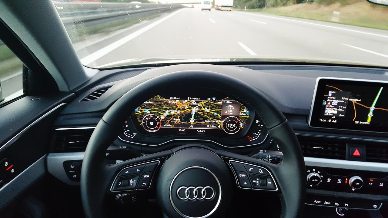 2016 audi a4 avant 2 0 tdi interior virtual cockpit for Lederen interieur audi a4