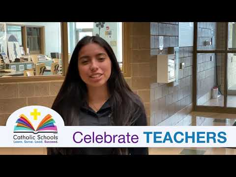 Holy Family Catholic High School 2020 CSW Thank You to Teachers