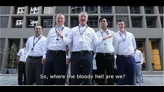 Where the bloody hell are we | QX Limited