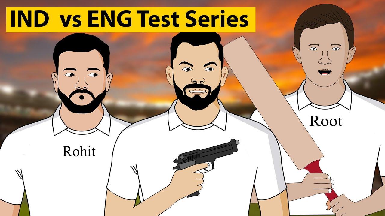 INDIA vs ENGLAND TEST Series Ki Taiyari