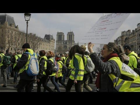 فرنسا: -أصحاب السترات الصفراء- ينزلون إلى الشارع -من أجل البؤساء-  - نشر قبل 23 دقيقة