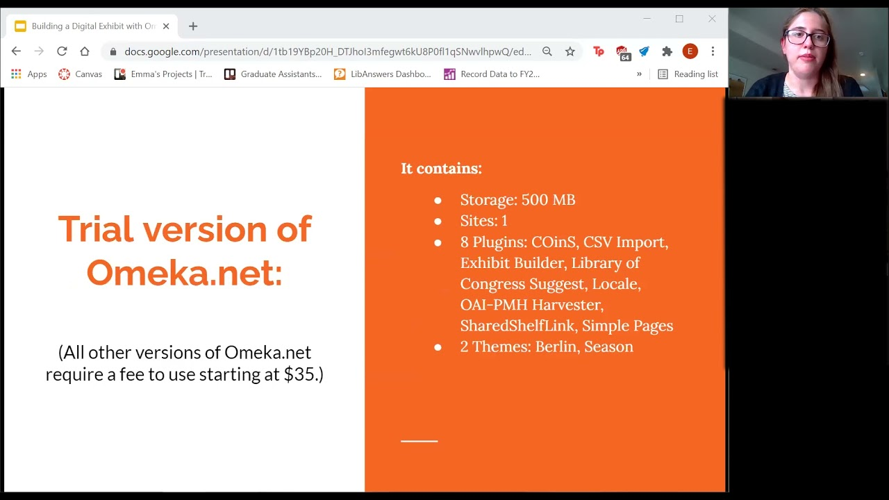 Download Creating a Digital Exhibit with Omeka