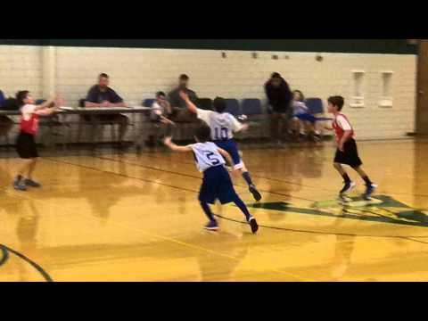 Graham plays basketball