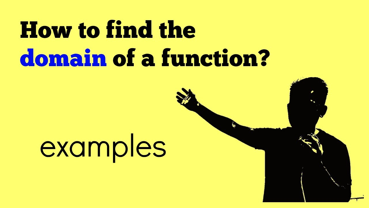 Find The Domain (in Interval Notation) Of A Logarithm Function, Examples  Part 1