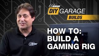 Newegg DIY Garage: How to Build a Gaming PC - i7-6700, 850 EVO, & GTX 970(Welcome to our brand new video series Newegg DIY Garage! This video is a step-by-step tutorial on how to build a no nonsense gaming computer. For your ..., 2015-12-17T00:01:04.000Z)