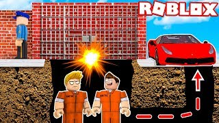 WE ESCAPED FROM ROBLOX'S SECRET PRISON!