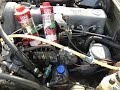 DIY How To Do The Liqui Moly Diesel Purge On a  EURO w123 1984 Mercedes 300d