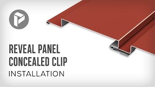 Reveal Panel Concealed Clip