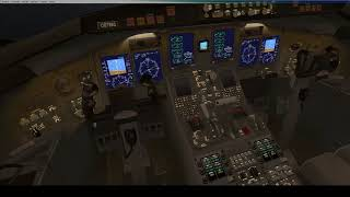 Engine failure in a thunderstorm! (With ATC)