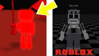 Finding All Secret Animatronics And Badges In Roblox Ultimate Custom Night RP