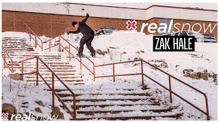 Zak Hale: REAL SNOW 2020 | World of X Games