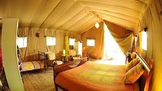 Safari Lodge du Grand Bois - Le Poët-Célard - France