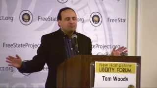 "New Hampshire Liberty Forum 2013 -Tom Woods - Keynote ""Nullification: The Gateway Drug"""