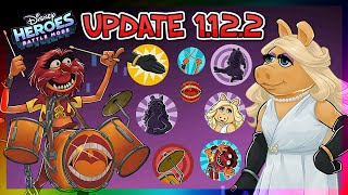 PIGGY & ANIMAL - UPDATE 1.12.2 OVERVIEW - New Characters - Disney Heroes Battle Mode