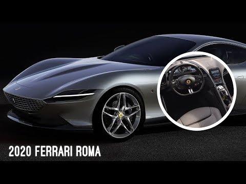 2020-ferrari-roma-|-gorgeous-super-car-|-interior-&-exterior-unveiling