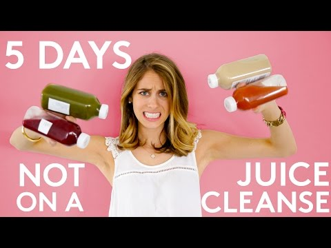 Lucie Finds Out What Happens To Your Body On A Juice Cleanse | Try Living With Lucie | Refinery29
