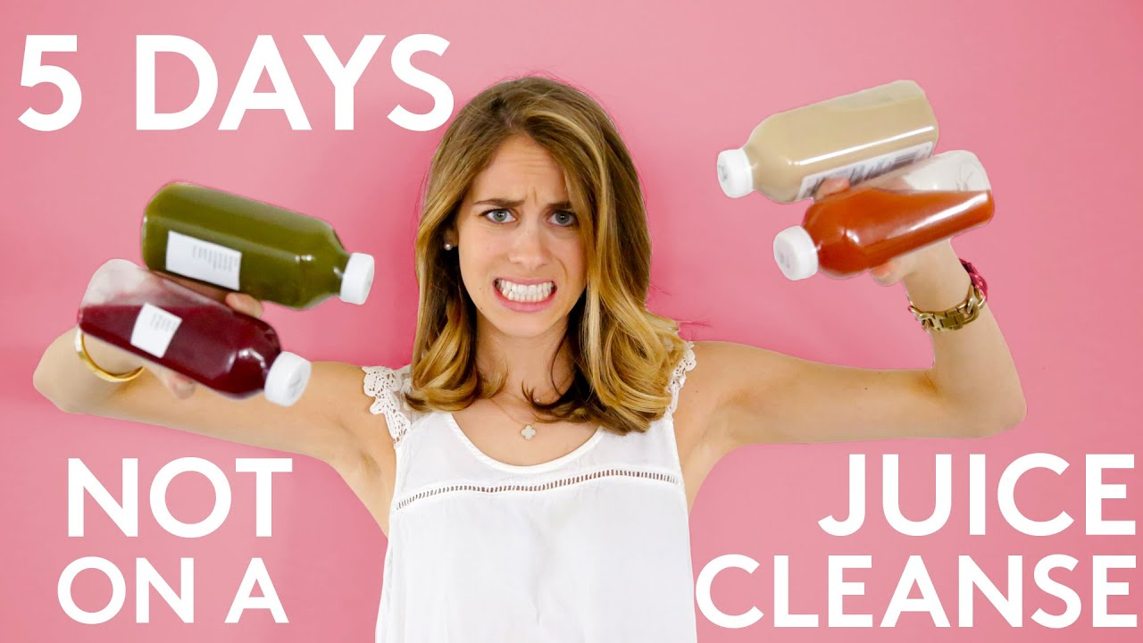 5 Days Of A Juice Cleanse Failed | Try Living With Lucie ...