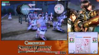 Samurai Warriors: Chronicles ・ Opening Intro + Story Mode ・ Pt 1