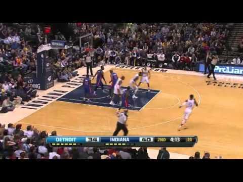 Pistons vs. Pacers | Game Recap  | NBA 2012-13 Season 30/01/2013