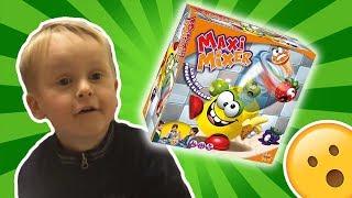MaxiMixer beim SpielzeugTester - Julian