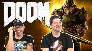 Trying out DOOM 2016 - James and Mike Mondays