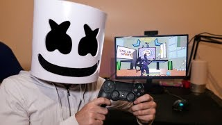 MARSHMELLO PLAYS THE MAP OF RUBIUS 3,000,000 *Fortnite in real life*