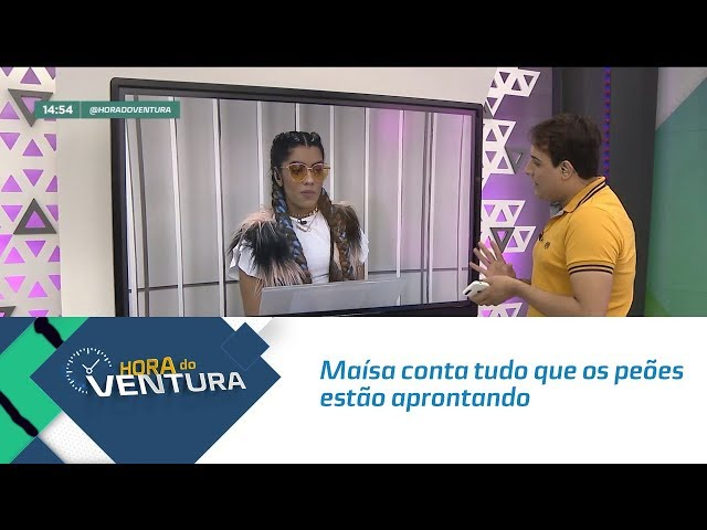 """Maísa conta tudo que os peões estão aprontando em """"A Fazenda"""" - Bloco 02"""