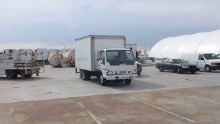 2006 Isuzu npr 14ft box truck up for public auction
